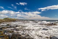 Northumberland road trip Aug 2016_0145 (Mark Schofield @ JB Schofield) Tags: north northumberland northumbria england east castle dunstanburgh coast sea canon 5dmk3 beach tide tyne tynemouth berwick