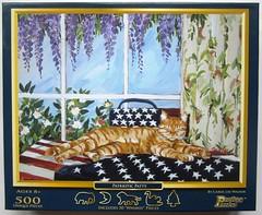 Patriotic Patty (Carol Lee Walker) - the box (Leonisha) Tags: puzzle jigsawpuzzle puzzleschachtel puzzlebox