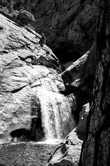 California Waterfall (mripp) Tags: landscape landschaft black white california kalifornien use america water waster national park ansel adams art kunst fuji xpro2