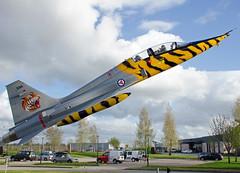 594, Northrop F-5B Freedom Fighter, RNoAF, OSL 06.5.2014 (Skidmarks_1) Tags: norway military osl militaryaircraft engm vintageaircraft 594 f5b rnoaf norwegianairforcemuseum