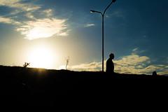 Nos vamos todos (martinnarrua) Tags: sunset sun man sol argentina contraluz atardecer person persona nikon shadows sombra silueta amateur hombre nikond3100