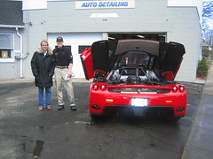 Ferrari Enzo and Happy Customer