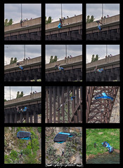 Base Jumping off of perrine bridge twin falls id (Pattys-photos) Tags: bridge jumping twin falls idaho base perrine