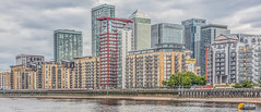 Canary Wharf Skyline (Sterling750) Tags: london thames skyline photoshop river district sony business wharf canary tone hsbc hdr mapped a77 citi