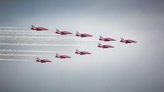 Reds 2 (Rose Atkinson) Tags: aviation redarrows