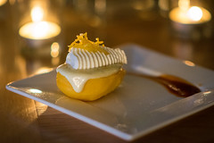 Dessert (ImaginemProductions) Tags: food beautiful candles wine gourmet winery delicious event ambience pairing winemaker
