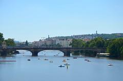 Moldau (freebirdlove) Tags: city summer czech prague moldau karlsbridge