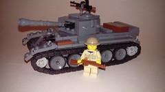 Lego Cromwell Mk IV (LOGICALbrick) Tags: world war lego ii ww2 iv mk cromwell mkiv