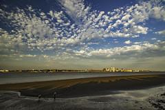 Liverpool Waterfront (ianandbarbara.bonnell@btinternet.com) Tags: uk england sky water skyline clouds liverpool river cityscape waterfront cloudscape mersey pierhead merseyside liverbuilding