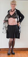 New-black-lace-bra (stockings.jane) Tags: cd crossdresser transvestite gurl ladyboy shemale tv stockings crossdressing crossdress tg tgurl tgirl trans lingerie bra lace trannie