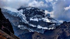 Aconcagua (Miradortigre) Tags: aconcagua andes argentina montaa nubes clouds mountain ice hielo snow nieve