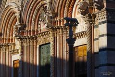 Siena Cathedral Facade (mariola aga ~ vacatiON) Tags: italy tuscany siena sienacathedral cathedralofsaintmary facade sculptures closeup light shadow saariysqualitypictures thegalaxy
