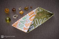 Origami Boxes (Maria Sinayskaya) Tags: square origami folded tomokofuse origamibox peterkeller singlesheetorigami kamipaperprintwhite valleyfolder