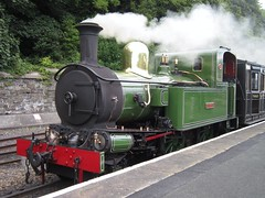 Isle of Man Steam Railway: G.H Wood at Douglas (30/07/2016) (David Hennessey) Tags: isle man steam railway beyer peacock 10 gh wood douglas