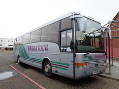 GO03END Endeavour coach in Blackpool (j.a.sanderson) Tags: go03end endeavour coach blackpool coaches aston volvo b12b vanhool alizee 2003