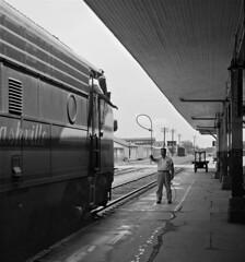 L&N, Biloxi, Mississippi, 1955 (railphotoart) Tags: mississippi unitedstates biloxi stillimage