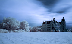 Once upon a time... (Massimo Buccolieri) Tags: castle hoya ir72 vallstift infrared kge regionzealand denmark dk