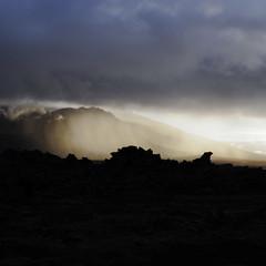 11 (Adeline Kristjánsdóttir) Tags: ciel contraste coucherdesoleil couleur lumire matire montagne paysage snaefellness lumière matière