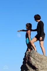 Jugant amb la lluna (socpep) Tags: moon lluna night nit catalonia muntanya muntain