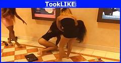 ผู้ญิงตบตีกันที่โรงหนัง