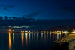 NATHON     Koh Samui, Thailand (ernesto teruya) Tags: pier night kohsamui thailand sky