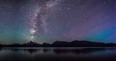 Milky Way over the Tetons (HubbleColor {Zolt}) Tags: jacksonlake night grandtetonnationalpark milkyway travel wyoming wy astro