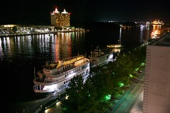 Savannah River Queen (tvdflickr) Tags: savannah georgia savannahgeorgia usa port ship ferry tourism dock riverstreet reflection night nikon df nikondf photobytomdriggers thomasdriggersphotography availablelightphotography handheld notripodused
