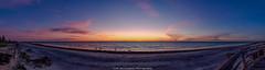 Semaphore at Sunset (johnwilliamson4) Tags: adelaide clouds landscape outdoor panorama semaphoresunset southaustralia water australia