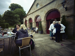 Family Day (wheehamx) Tags: bruiser dumfries house cafe