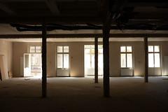 loft (plattnerbauten) Tags: loft window basel switzerland schweiz suisse light column space open opening fenster