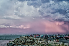 """""""Thunderhead Clouds"""" (23 Photography by Sharon Farrell) Tags: thunderheadclouds cumulonimbus cumulonimbusclouds stormclouds atmosphericoptics plymouth plymouthma plymouthmassachusetts plymouthharbor plymouthbay plymouthwaterfront twilight alpenglow"""