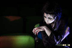 DSC_8306 (Pist@cchio) Tags: modeling nikon d810 modelle pistacchio ragazza art pose goth gothic model gotico cosplay girls portrait bizzarre light blood ghost death abandoned makeup