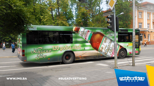Info Media Group - Nikšićko pivo, BUS Outdoor Advertising, Banja Luka 07-2016 (2)
