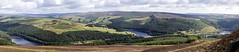 Ladybower Panorama (Arran Bee) Tags: peak district lake water landscape nature derbyshire uk midlands england countryside long exposure neutral density filter canon 1100d summer outdoor panorama photomerge win hill