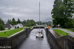 Neptune Locks Staircase, Fort William , Scotland (safc1965) Tags: fort william scotland neptune locks staircase caledonian canal
