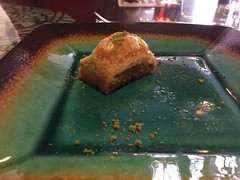 Baklava at Turquoise Grill (Laurie Lee) Tags: brattleboro vt vermont turquoisegrill