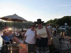 Evelyn and Carolyn at Lake Thoreau Boat Party (procktheboat) Tags: lakethoreau boatparty boatbash restonvirginia restonva