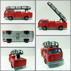 CAMION POMPIER N 207 - MAJORETTE (RMJ68) Tags: camion pompier fire engine truck bomberos new york department fdny majorette diecast coches cars juguete toy 1100 scale american lafrance alf