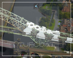 Silver Jubilee Bridge - Tufcoat Shrink Wrap
