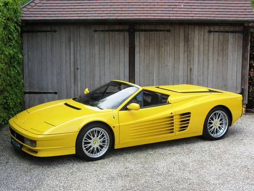Ferrari Testarossa Spyder (1987).