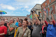 Cheers: Marriage Referendum: In The Upper Yard, Dublin Castle (Skyroad) Tags: