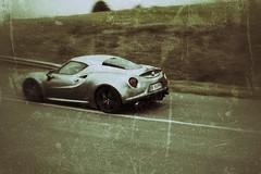 Alfa Romeo 4C (xwattez) Tags: france car italian voiture transports alfaromeo circuit 2014 4c italienne véhicule laréole cadours