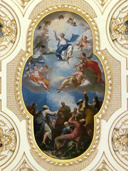 Great Witley - St Michael & All Angels (pefkosmad) Tags: uk england church painting italian worship christ interior ceiling painter worcestershire ornate baroque anglican cherubs gilding placeofworship italianate hallowedground churchofengland parishchurch stmichaelandallangels greatwitley englandsthousandbestchurches antoniobellucci