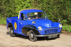 Morris Minor Pick up ASJ 957 (BIKEPILOT) Tags: classic car vintage airport rally transport pickup vehicle british morris minor popham airfield aerodrome eghp asj957 aeroautojumbleclassicvehiclerallyflyin
