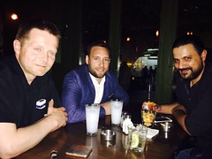 Discussing world problems, beirut!
