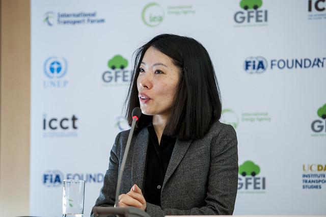 Xiaomei Tan speaking
