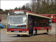 Safeguard (X307 CBT) 2 (Colin H,) Tags: bus ex rally cobham guildford oe coaches excel brooklands ibp safeguard optare x307cbt ipswichbuspage l1070 colinhumphrey tillingborne