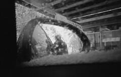 winter (matkovsmatko) Tags: windows winter blackandwhite bw west ice home monochrome work way town trix grain nostalgia zagreb dreams push past 800 dasa zagrebu gajnice