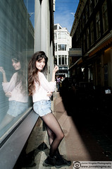 (Just a guy who likes to take pictures) Tags: street city pink shadow madame portrait urban woman sun holland window netherlands glass girl dutch face amsterdam fashion lady female photography photo model nikon europa europe shoot foto fotografie photographie photoshoot fashionphotography feminine femme panty nederland thenetherlands style tights porträt jeans holanda shooting shorts nl frau portret mode schaduw paysbas modell zon glas nylon vrouw metropol stad raam refelction stylish noordholland niederlande roze gezicht strumpfhose haar fotoshoot stijl reflectie d300 collant streetstyle jeansshorts modefotografie d300s