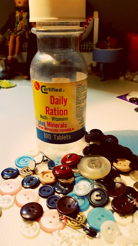 Daily Ration....of buttons!